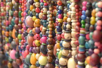 Image of colorful hanging beads - Oakland Theapist, EMDR Theaist, Polyamory, Nonmonogamy, Open Relationships