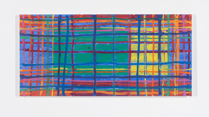 LG#DBBL 0,75m x 1,50m mar. 2019 oil/Canvas I.STOLNICKI