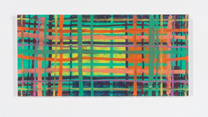 LG#DBYO 0,75m x 1,50m mar. 2019 oil/Canvas I.STOLNICKI