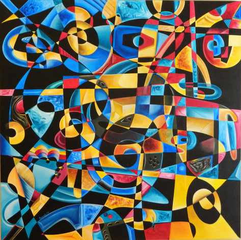 Dimensions Without Limits - 60x60