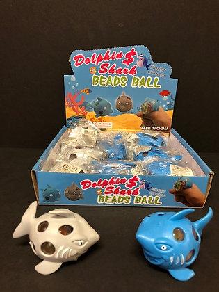 Dolphin & Shark Bead Ball