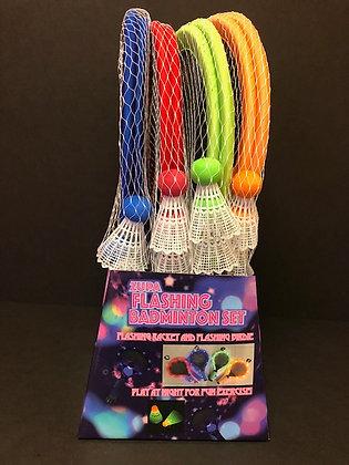 12 Flashing Badminton Sets
