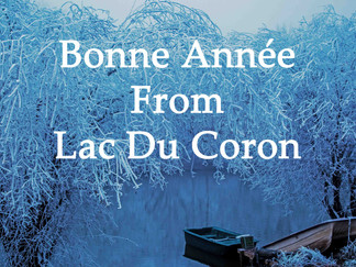 Happy New Year From Lac Du Coron