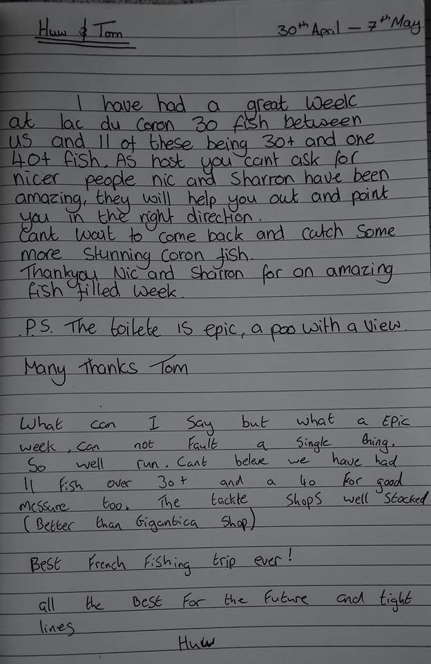 A review from Tom and Huw