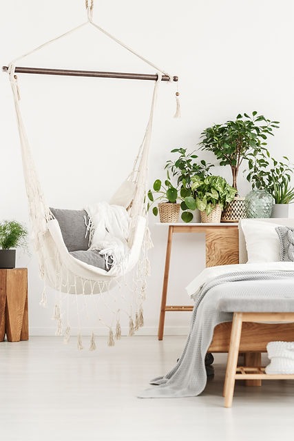 Hammock in Bedroom