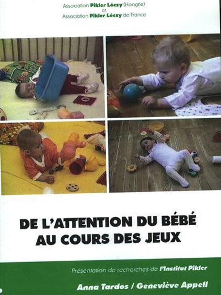 De l'attention du bébé au cours des jeux