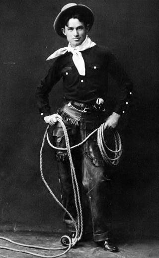 Will Rogers, c. 1900