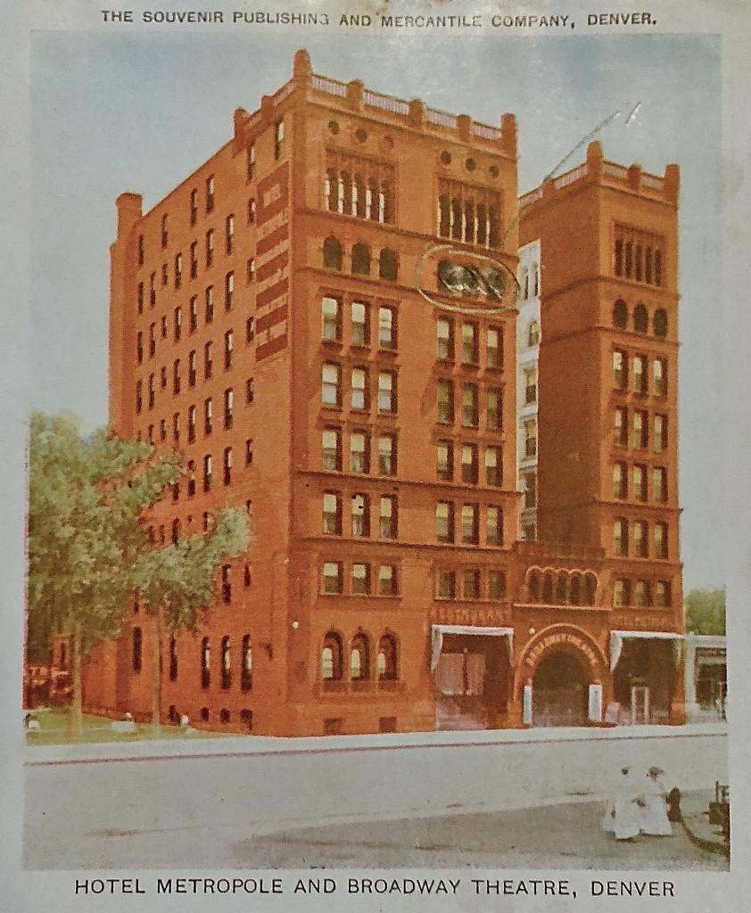 Broadway Theatre, Denver, CO, c. 1908