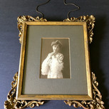 Ormolu and Giltwood Picture Frame and Photograph