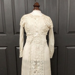 Edwardian Embroidered Lace Gown