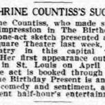 The Birthday Present-1913