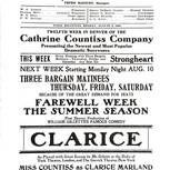 Broadway Theatre Program-1908