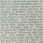 Orpheum Circuit Announcement-1913