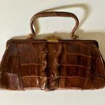 Hornback Alligator Handbag
