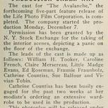Casting Announcement-1914