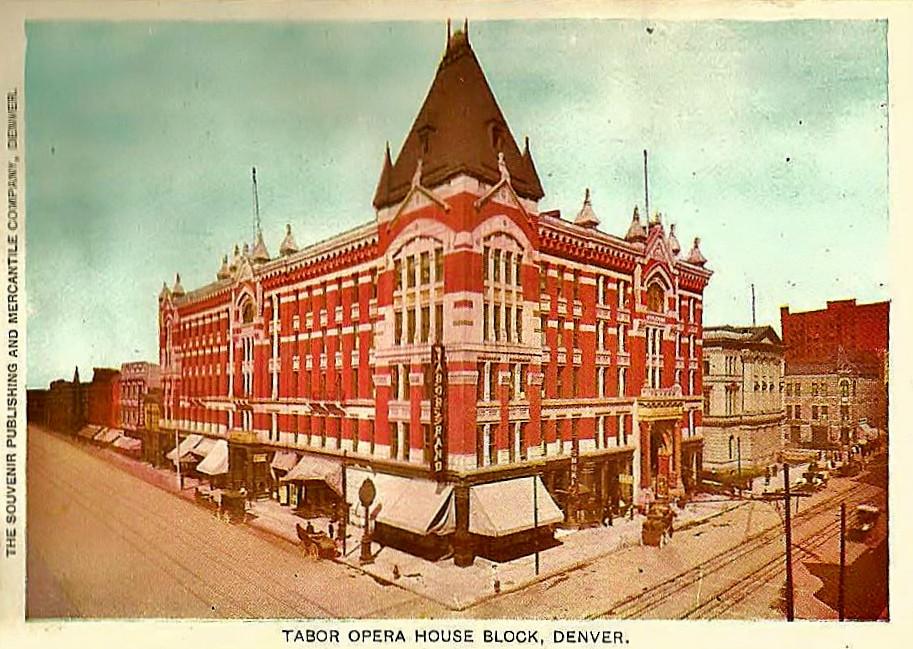 Tabor Opera House, Denver, c. 1908
