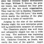 The Old Love-1906