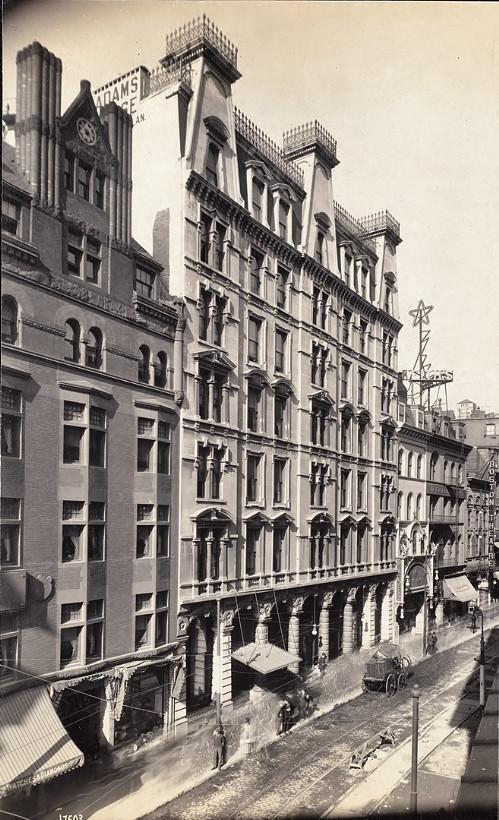 Adams House Hotel, Boston, 1906