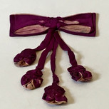Silk Bow with Four Rosettes