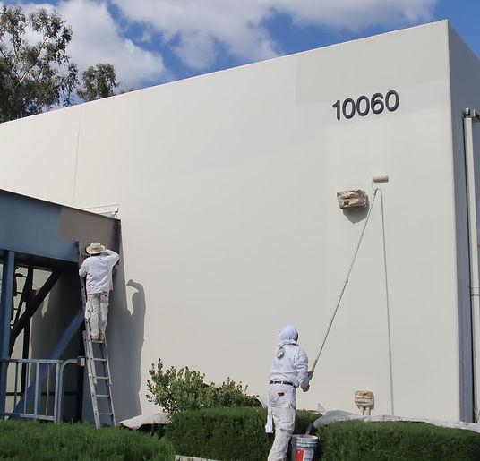 exterior painting comercial