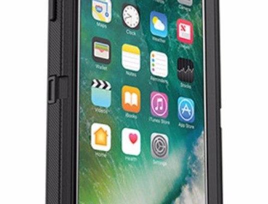 iPhone 7/8 Plus Otter Defender Case - Black