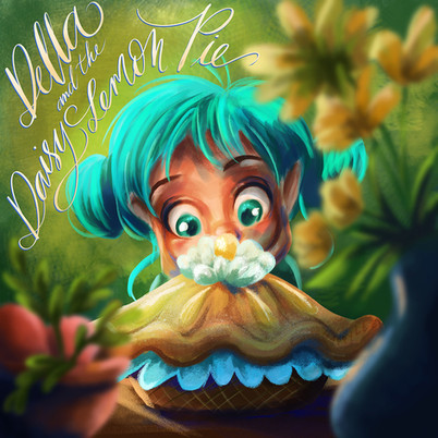 Della and the Daisy Lemon Pie