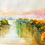 Thumbnail: Autumn River (Watercolor Art Print)