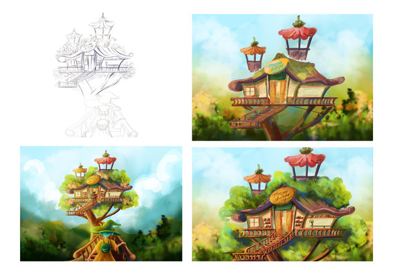The Proceess of the Bakeshop artwork