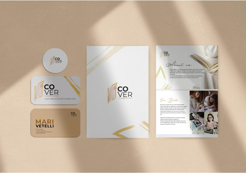 Cover Cabin Stationery Suite