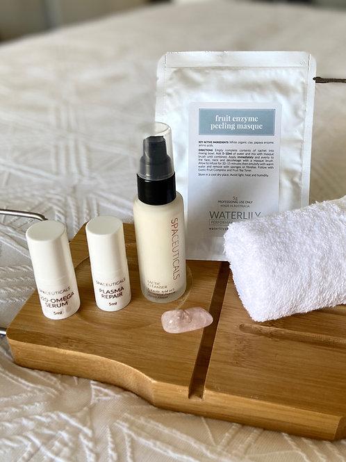 DIY Beauty Facial Ritual - Lactic cleanser