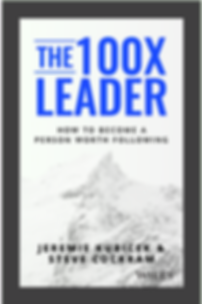 The 100X Leader, a new book from Jeremie Kubicek.