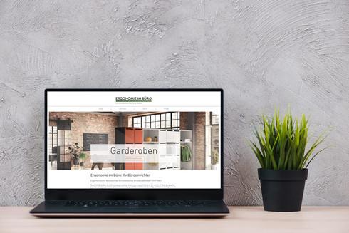 Webseite EIB: Google Ads Kampagne