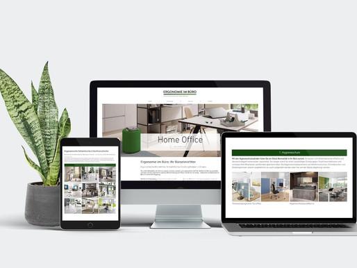 Mehr Spaß im Büro und mehr Traffic: Flexibles Webdesign für Augsburger Büroeinrichter
