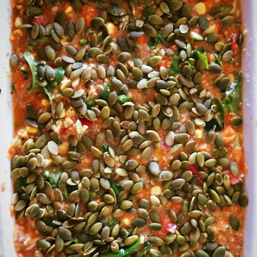 Super-charged Seed Quiche
