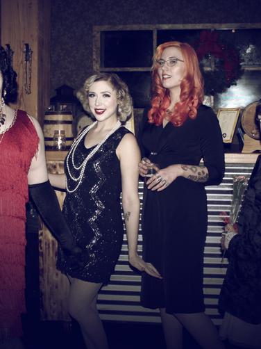 Left to right: Dora Diamond, Sugar St. Clair, Vee Valentine, & Lavish Jules