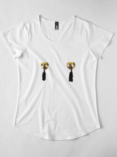 Gold Tassels T-shirt