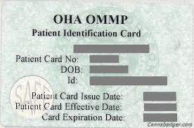 How to get an OMMP card in Oregon