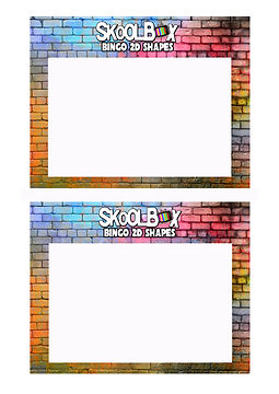 BINGO CARD -2D SHAPES- COLOUR - BLANK.jp