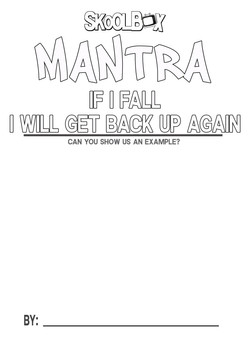 MANTRA 19 FALL BACK UP