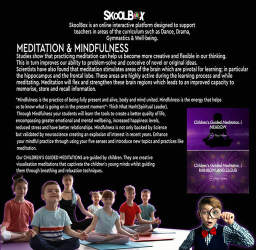 MEDITATION & MINDFULNESS PAGE PRIMARY SC