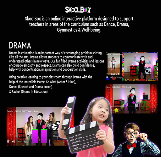 DRAMA PAGE PRIMARY SCHOOL BROCHURE final