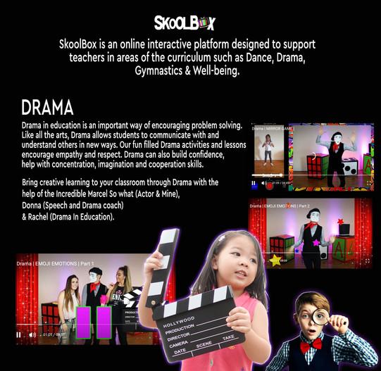 DRAMA PAGE PRIMARY SCHOOL BROCHURE final