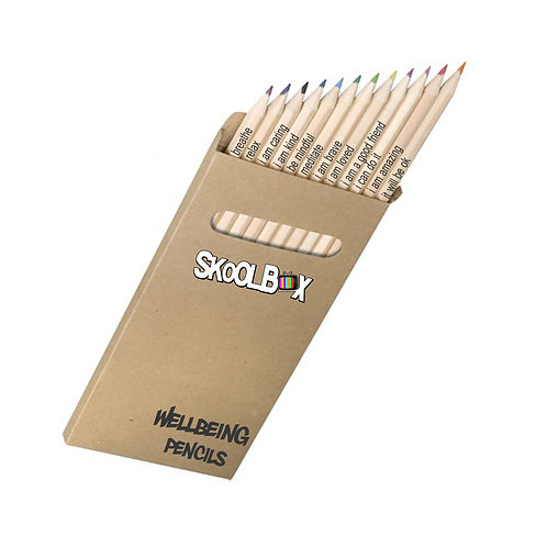 SkoolBox Wellbeing Pencils