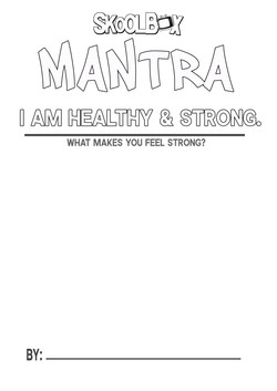 MANTRA 5 I AM STRONG