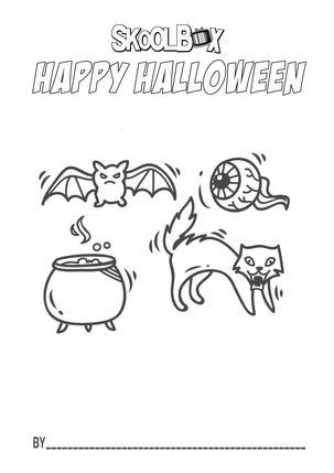 BAT, EYE, CAULDREN & CAT