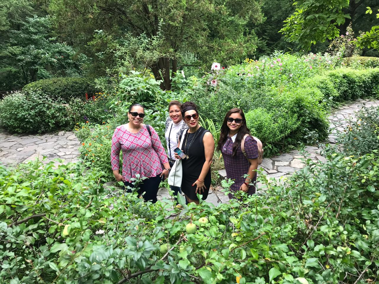 Central Park - Shakespeare Garden