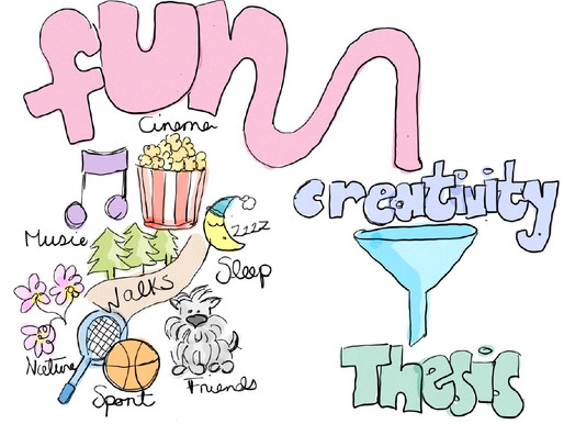 Why you should have fun while writing your PhD thesis