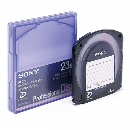 XDCAM Sony 23G