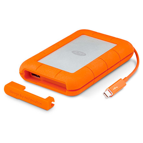 LACIE RUGGED THUNDERBOLT DRIVE - USB3 2T