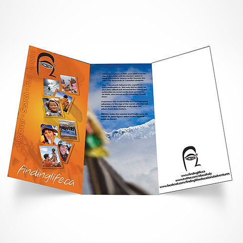 BROCHURES - TRI-FOLD COLOR 2SIDE  250